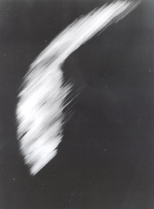 First still photo of the earth from outer-space taken in 1959