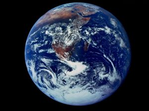 The Blue Marble- First full view photo of earth taken in 1972